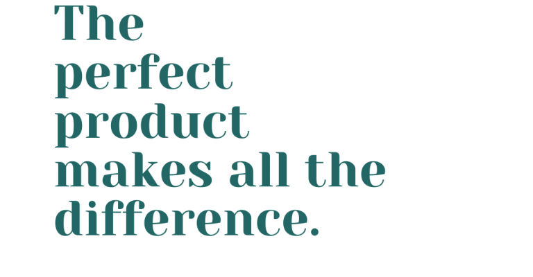 The perfect product makes all the difference... (1)